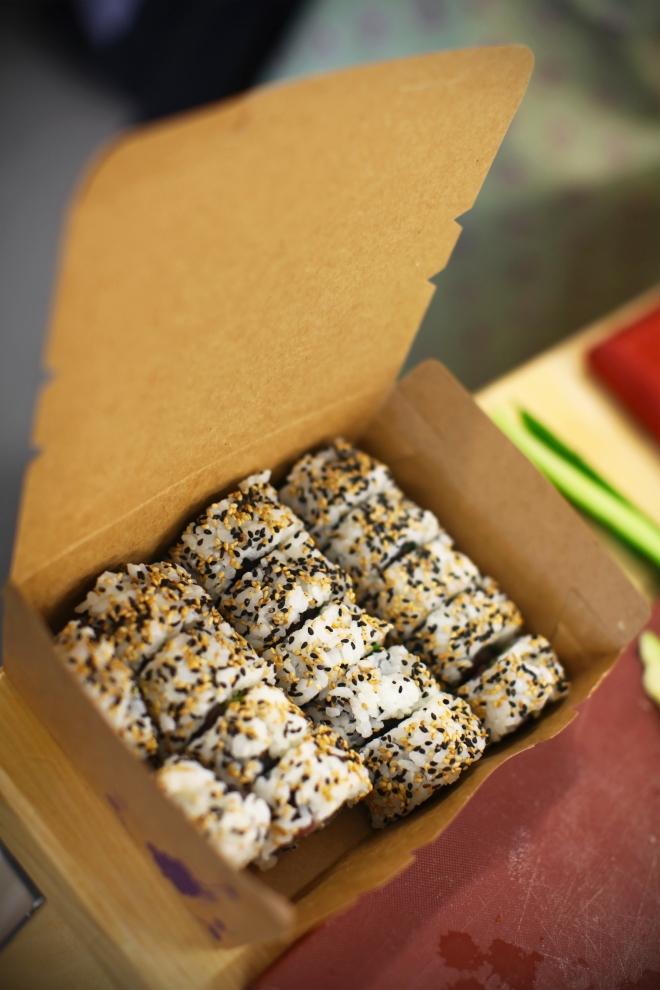 Londonska kuharska šola Leiths/tečaj sušija