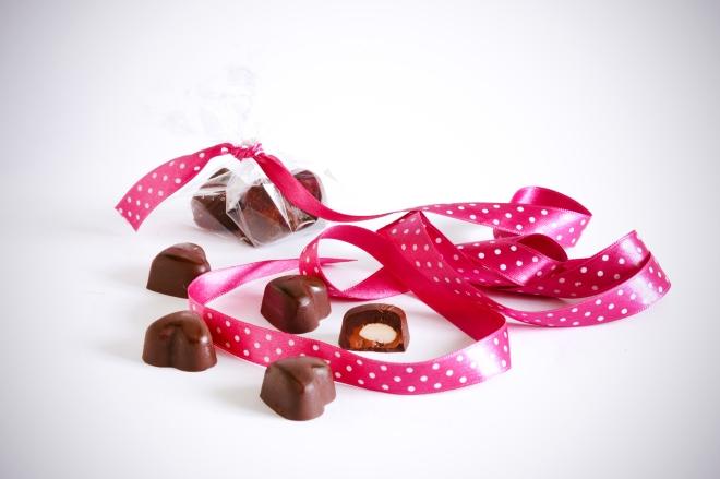 Čokoladne praline z nougat kremo