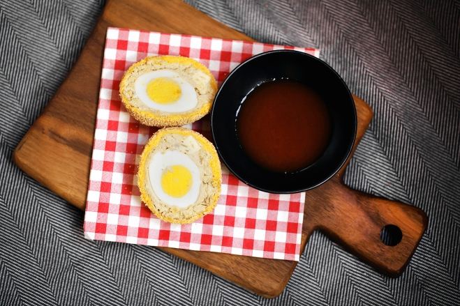 Panirani pirhi / Scotch eggs