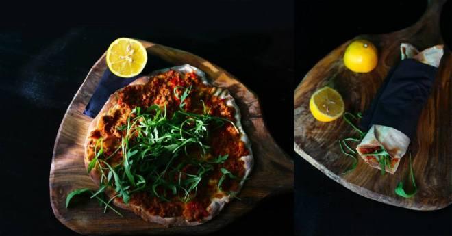 Lahmacun je turška pica