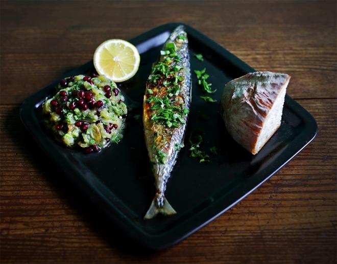 Žgana melancana in ena riba