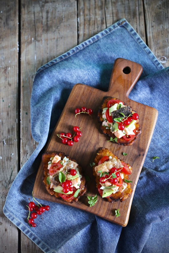 Ceviche_salmon_tostones_platanos_food_styling