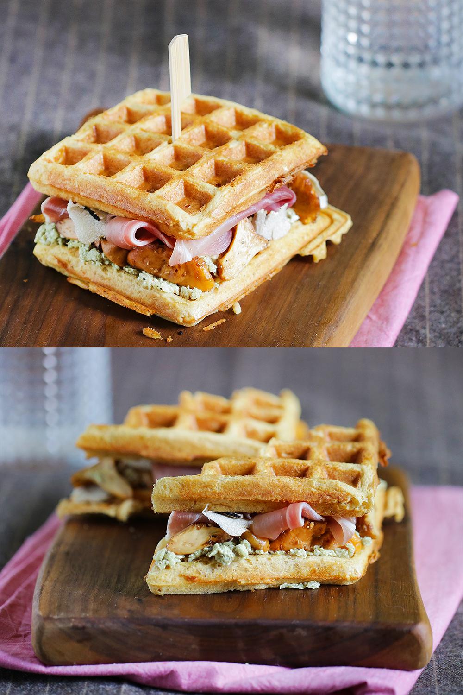 Vafljev sendvič brez glutena