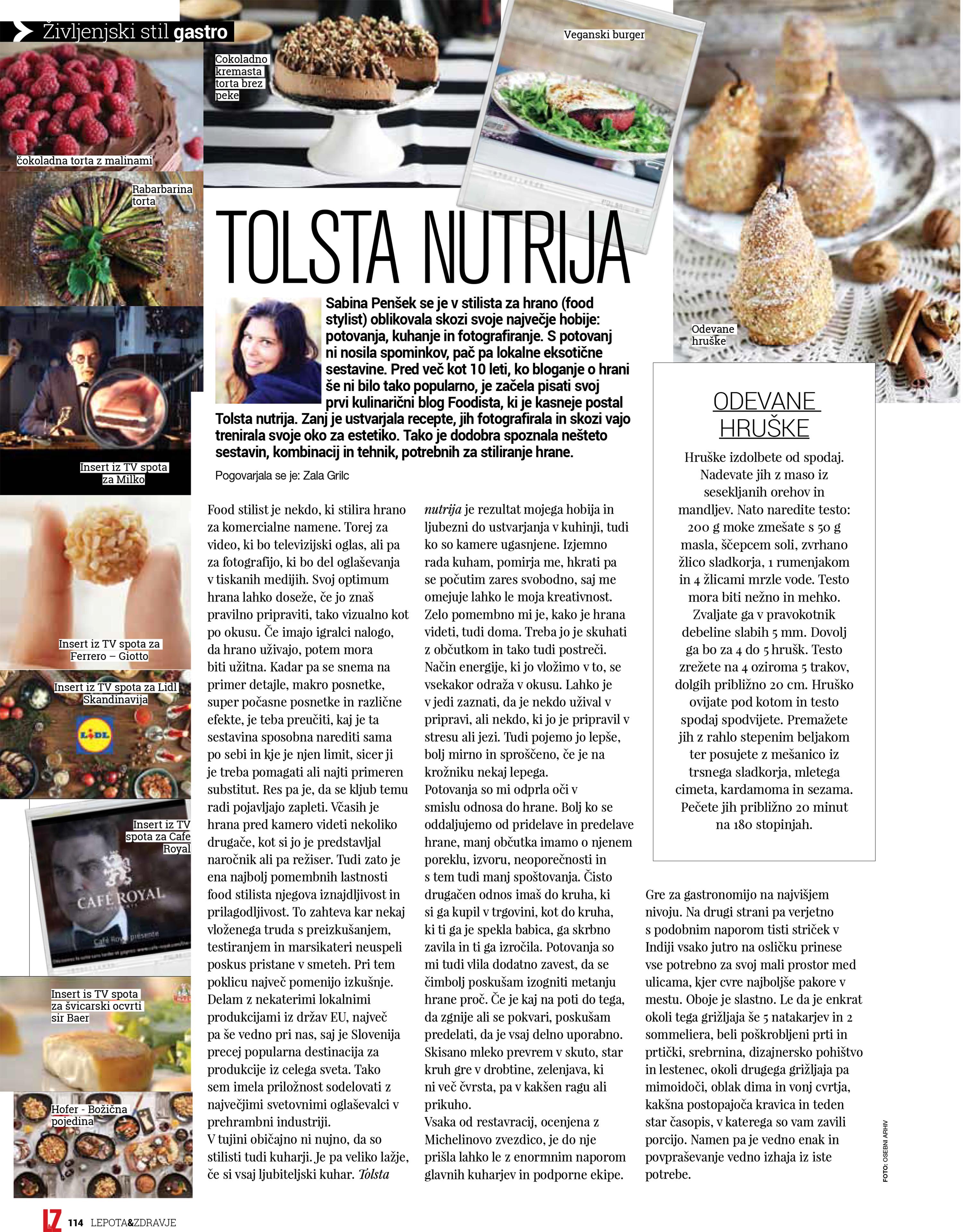 Iz revije Lepota & Zdravje